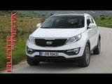 Kia Sportage Test Drive Kia Sportage Club Italia | Marco Fasoli prova | Esclusiva Ruote in Pista
