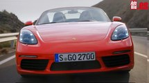 Nuevos Porsche 718 Boxster y 718 Boxster S, ¡reto familiar!