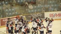 WHL hockey team celebrates win with EA Sports NHL 94 tribute