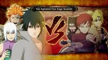 Naruto Shippuden: Ultimate Ninja Storm 3: Full Burst [HD] - Sasuke Vs Gaara