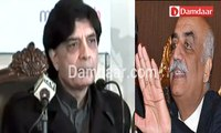 Chaudhry Nisar's  comments on Khursheed Shah