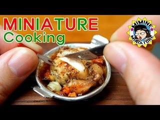 미니어쳐 진짜요리!! 칠면조 구이! +ㅁ+  Miniature Real Cooking - Roast Turkey / 미미네 미니어쳐