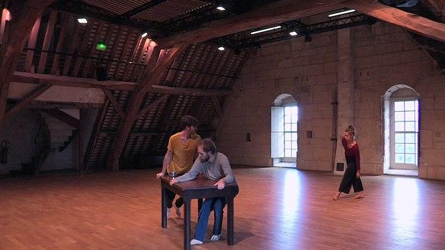 Grand Comble - Improvisation sonore pour 3 danseurs