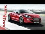 Peugeot RCZ R Test Drive | Marco Fasoli prova | Esclusiva Ruote in Pista
