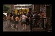 Escena famosa de El Padrino de Francis Ford Coppola con Marlon Brando y Al Pacino asesinat