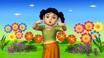 Chubby Cheeks Dimple Chin - 3D Animation Nursery rhyme for children with Lyrics
