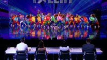 Youth Creation street dancing on the BGT stage | Week 5 Auditions | Britain\'s Got Talent 2013