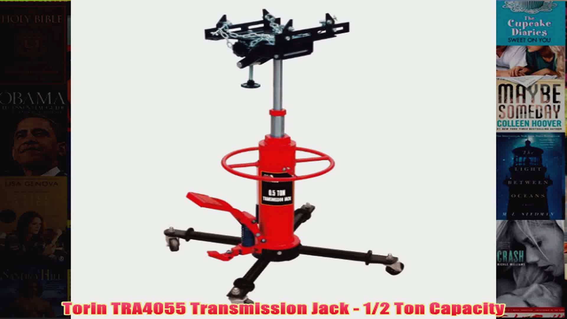 BEST Torin TRA4055 Transmission Jack 12 Ton Capacity REVIEW
