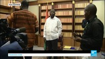 01/28/2016 Ex-Ivorian leader Laurent Gbagbo pleads not guilty to crimes against humanity at ICC
