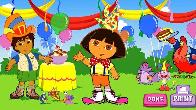 Dora The Explorer - Doras Super Silly Costume Maker (Full Episode Game) Dora English Game HD