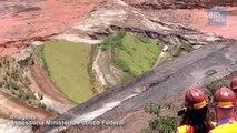 Veja imagens do deslocamento de lama de barragem da Samarco em Mariana