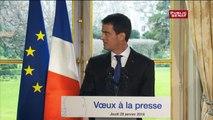 Valls : « Je suis réformiste, je suis libéral, je suis social, je suis de gauche et je suis Français et républicain d'abord »
