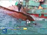 Raw Chinese fish boat capsized in South Korean sea one dead