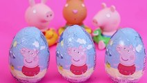 eppa pig kinder surprise eggs toy videos Peppa Pig George barbie - Pig George e Peppa Pig Play Doh Suprise Toys Play Game With Peppa Pig Cartoon videos Dora - Barbie - Tom And jerry