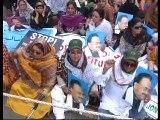 Part 1: Labour Division Protest outside Karachi Press Club: Address of MQM Quaid Altaf Hussain