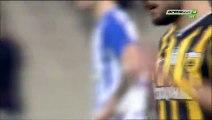 4-0 Christos Aravidis Penalty Goal Greece Cup  Quarterfinal - 28.01.2016, AEK Athens 4-0 Iraklis Salonica