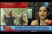 Ana Paula Roldán le envía mensaje a María Emilia Cevallos, actual novia de su ex Arturo León