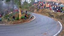 Mitsubishi lancer evo drifting Rally Sierra Morena THE BEST HD