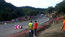 The best of Mitsubishi lancer evo drifting Rally Sierra Morena HD