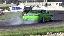 Great Sounding SR20DET Engines 3 x Nissan Silvia S14 Drifting & Sound