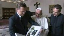Le pape François reçoit Leonardo DiCaprio pour parler de défense de l'environnement