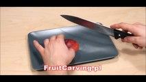 027. Free fruit carving course apple decoration _ Darmowy kurs carvingu dekoracja z jabłka