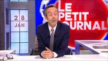 """""""Le Petit Journal"""" se moque d'un manifestant à """"La manif pour tous"""" - Regardez"""