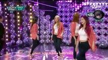 160107 달샤벳 Dal★shabet - Someone like U (너 같은) @M! Countdown 中字