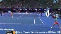 Hingis  Mirza vs Hlavackova  Hradecka 20160129 FINAL Women Doubles tennis highlights by ACE