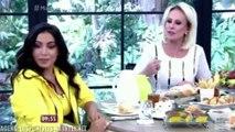 GAFE Anitta leva bronca de Ana Maria Braga ao vivo Olha pra mim quando a gente fala