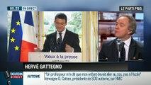 Le parti pris d'Hervé Gattegno : En se renforçant, Manuel Valls affaiblit François Hollande – 29/01