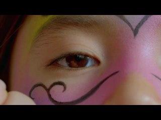 Maquillage masque de Carnaval