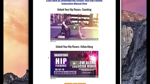 Loosening Hip Flexors