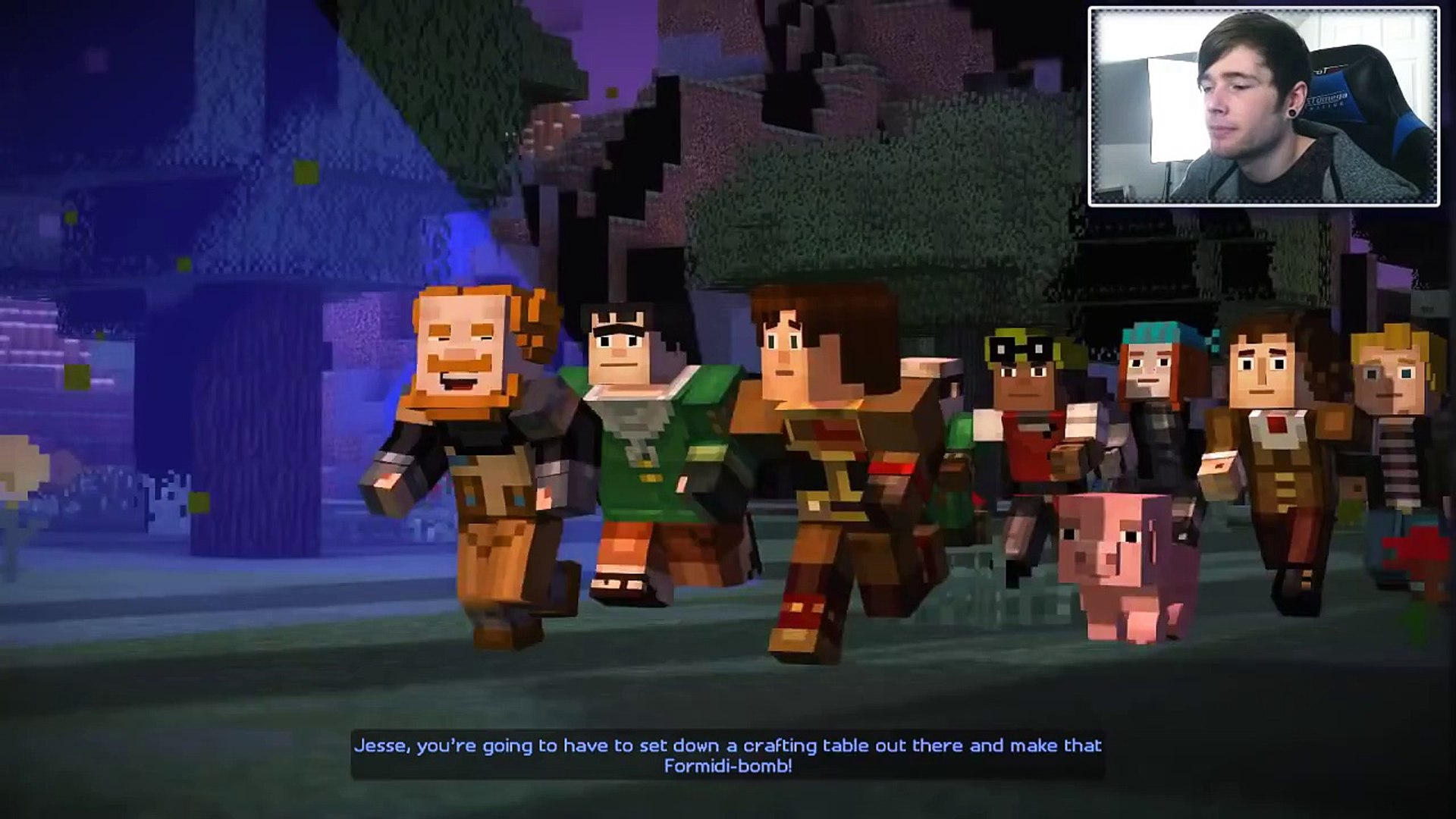 Minecraft Story Mode The Formidi Bomb Episode 3 3 Video
