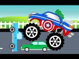 Kids Colors Learning through American Trucks-Kids 3D cartoons-Build a Tractor and learn count lessons-Kids Funny and educational cartoons-Kids Learn Shapes-animation alphabet ABC poems for kids-Children Urdu Poem-Baby funny hd video cartoons
