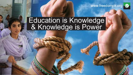 Education is a basic right of every child in Pakistan and PFM is committed to provide that education