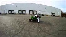 Kawasaki Ninja 636 Stunt 2016