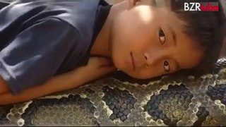 Boy and Snake Video - Video Dailymotion
