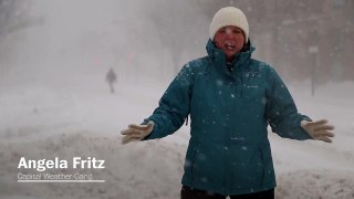Storm forecast_ Worst of massive snow storm hits D.C. - Video Dailymotion