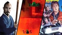 HORS-JEU : Comics Retour vers le Futur, Drone Racing League, Marco Polo Hundred Eyes, Festival Vivre l'Histoire