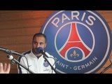 """PSG : """"Laurent Blanc me parle souvent. Après l'entraînement, je travaille parfois seul avec lui."""" LUCAS dans Tribune 100% Ducrocq sur France Bleu 107.1"""