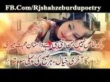 Urdu Poetry | Acha Hua Tere Dil Se | Sad Poetry | Urdu SHayari | Tanha Abbas Poetry | Best Poetry | Poem | Nazam | Ghazal