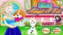 Frozen disney game Frozen Elsa Adopt a Pet Games for girls girl games play girls games online