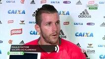 Paulo Victor, goleiro do Flamengo: 'Se eu sair daqui a qualquer momento, eu tenho portas abertas em outro lugar'