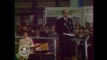 #ArchivesGouv - 31 Janvier 1977, le président Valéry Giscard d'Estaing inaugure le Centre Pompidou à Paris
