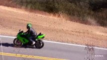 Motorcycle Crash - Yamaha R1 Lowside crash on Mulholland Hwy near Malibu