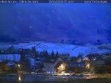 Timelapse Webcam Villard de lans - 29/01/2016 - Colline des Bains