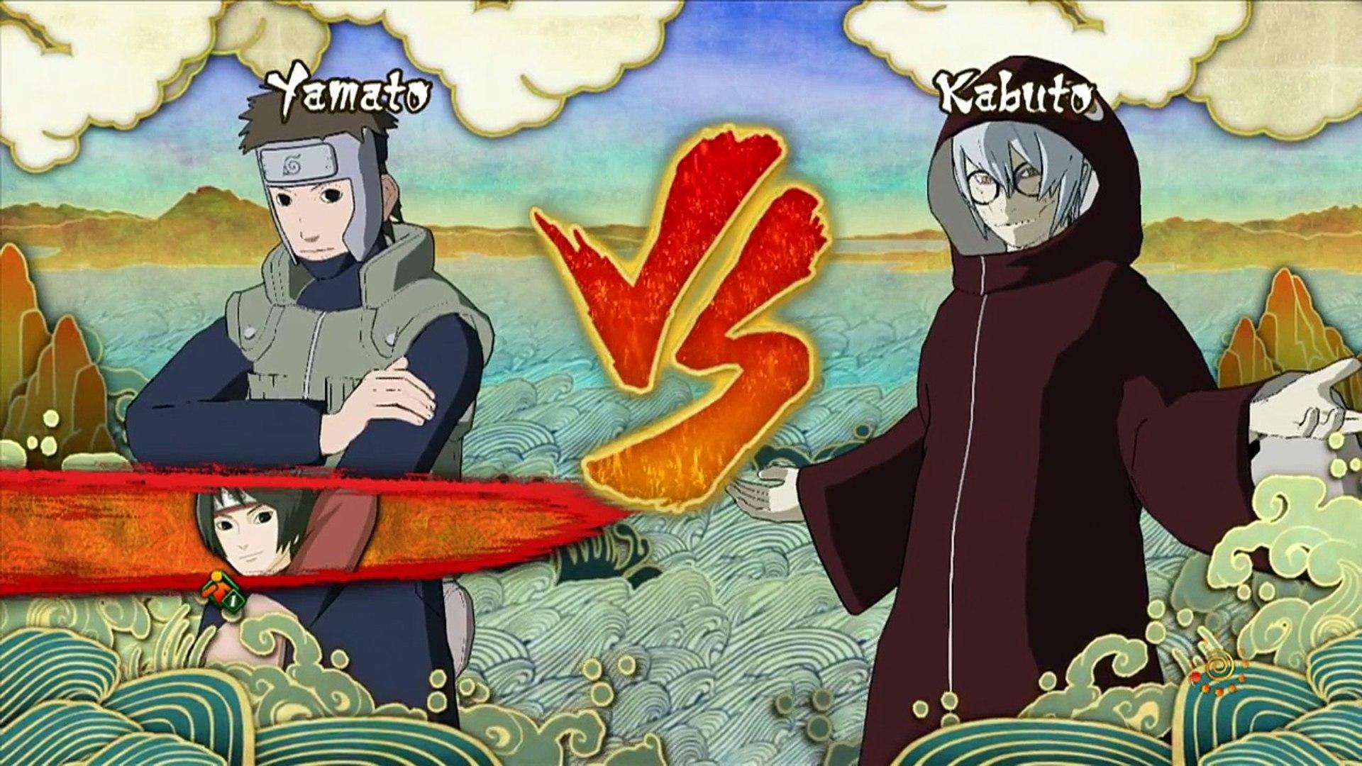Naruto Shippuden: Ultimate Ninja Storm 3: Full Burst [HD] - Yamato Vs Kabuto