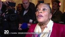 """Christiane Taubira : """"Je suis loyale au président de la République et je le demeurerai"""""""