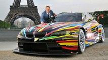 BMW #17 Art Car Showcased at 2016 Art Fair